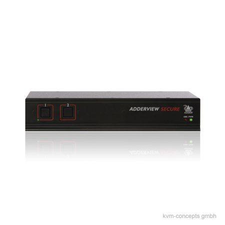 ADDERView AVSD1002 Secure KVM-Switch - Vorderseite