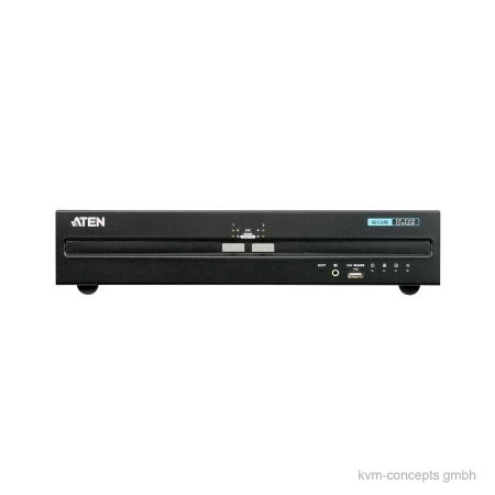 ATEN CS1142DP Secure KVM-Switch – Vorderseite