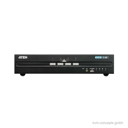 ATEN CS1144DP Secure KVM-Switch – Vorderseite