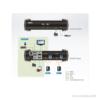 ATEN CS1822   4K KVM-Switch 1 User 2 PC   Funktionsweise
