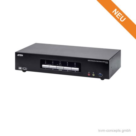 ATEN CS1964 | Triple Video 4K KVM-Switch | Produktbild