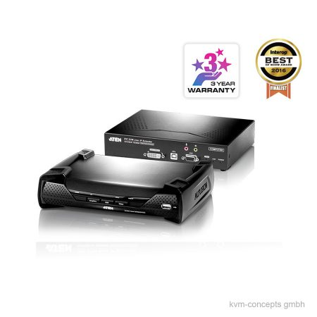 ATEN KE6900 DVI-I, USB, Audio KVM over IP Extender Set – Produktbild