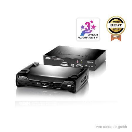 ATEN KE6900 DVI-I, USB, Audio KVM over IP Extender Set – Produktbild
