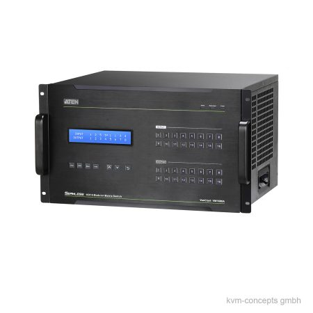 ATEN VM1600A 16×16 modularer 4K AV Matrix Switch – Produktbild