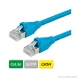 DÄTWYLER Patchkabel Cat.5e S/UTP, CU 5502 flex LSOH, AMP-Stecker, blau