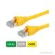 DÄTWYLER Patchkabel Cat.5e S/UTP, CU 5502 flex LSOH, AMP-Stecker, gelb