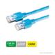 DÄTWYLER Patchkabel Cat.5e S/UTP, CU 5502 flex LSOH, Hirose TM11 Stecker, blau