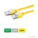 DÄTWYLER Patchkabel Cat.5e S/UTP, CU 5502 flex LSOH, Hirose TM11 Stecker, gelb