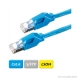 DÄTWYLER Patchkabel Cat.6 S/FTP, CU 7702 flex LSOH, Hirose TM21 Stecker, blau