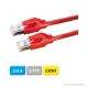 DÄTWYLER Patchkabel Cat.6 S/FTP, CU 7702 flex LSOH, Hirose TM21 Stecker, rot