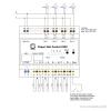 GUDE Expert Net Control 2302-1 - Remote I/O mit 4 Relaisausgängen und 8 Signaleingängen - Anschlussplan