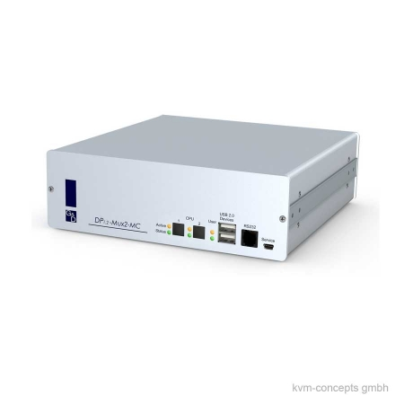 Guntermann & Drunck 4K Dual Video DisplayPort KVM-Switch DP1.2-MUX2-MC2-USB – Produktbild