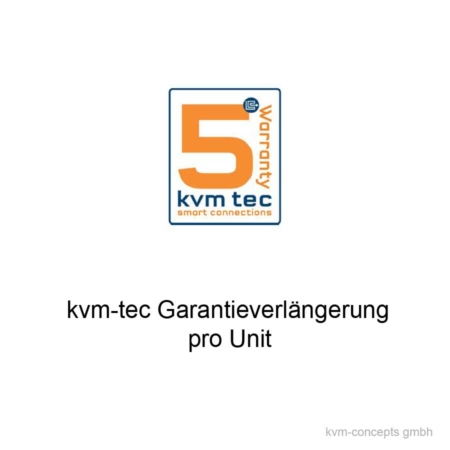 KVM-TEC GV5JU (9003) Garantieverlängerung Unit auf 5 Jahre