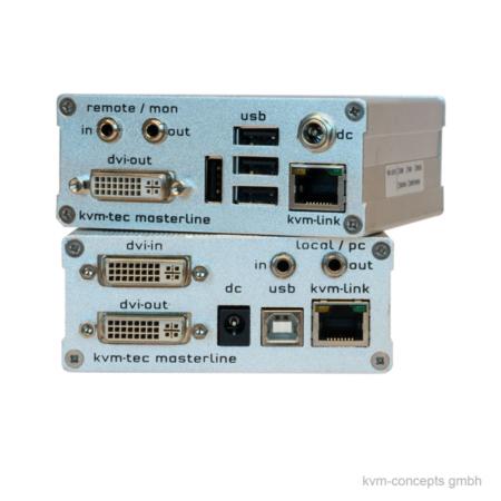 DVI KVM Extender Set CATx KVM-TEC Masterline MVX1 – Produktbild