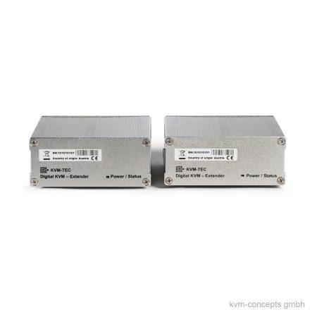 DVI KVM Extender Set CATx KVM-TEC Masterline MVX1 – Vorderseite
