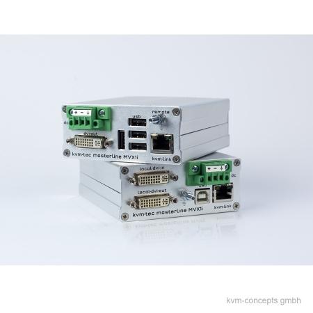KVM-TEC KVM-Extender Set Industryline MVXi-C - Produktbild