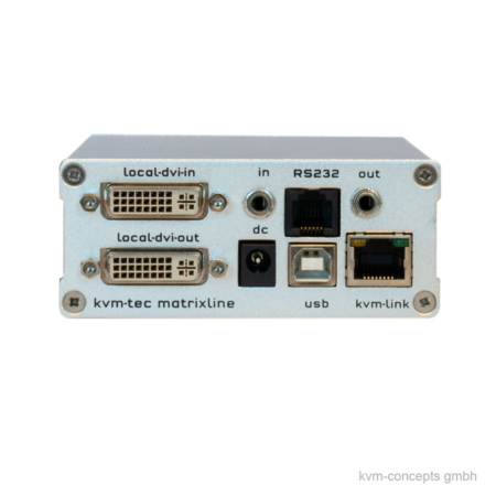 KVM-TEC Matrixline2000 MX1 KVM-Extender Transmitter – Produktbild