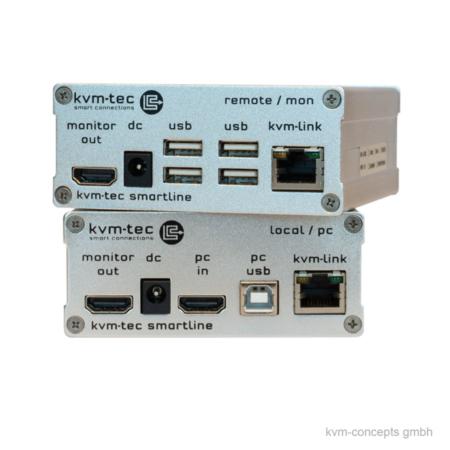 DVI KVM Extender Set CATx KVM-TEC Smartline SVX1 – Produktbild