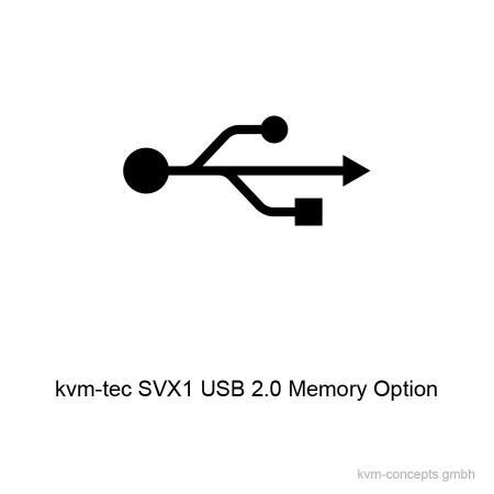 SVX1-MO (6138): USB 2.0 Memory Option für kvm-tec Smartline SVX1