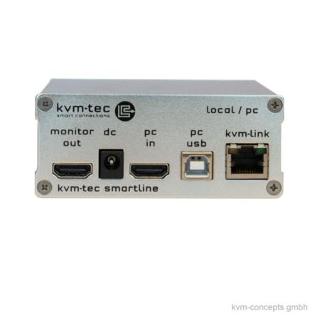 DVI KVM Extender CATx Transmitter | KVM-TEC Smartline SVX1L 6501L | Produktbild