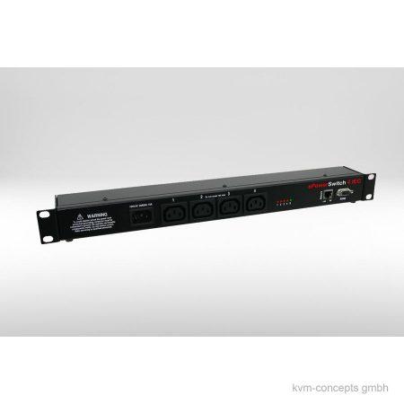 NEOL ePowerSwitch-4 IEC R3 - IP Steckdose 1 Eingang 4 Ausgänge - Produktbild