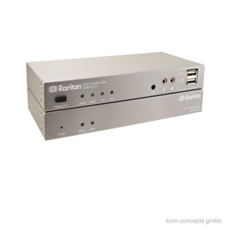 RARITAN Cat5 Reach DVI HD | KVM-Extender Set | Produktbild